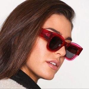 NWT Celine Zoe CL 41446/S fuchsia sunglasses 😎